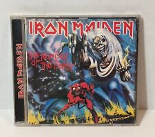 Iron Maiden Number of the Beast 1982 1995 Castle 104-2