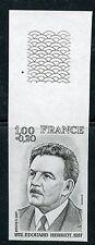 TIMBRE FRANCE NEUF N° 1953 ** EDOUARD HERRIOT / NON DENTELE