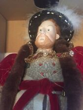 Limited Edition New King Henry the 8th Porcelain Doll