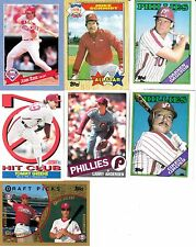 PHILADELPHIA PHILLIES--Baseball Cards--7 Card Lot--FREE SHIPPING