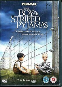 DVD  - 'THE BOY IN THE STRIPED PYJAMAS'   (Region 2)