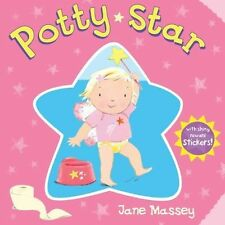 POTTY STAR - POTTY TRAINING BOARD BOOK WITH REWARD STICKERS
