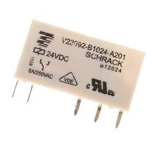 TE Connectivity Schrack V23092-B1024-A201 Relais 24 VDC 6A / 250VAC 5 Pin