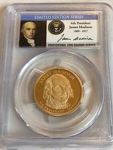 2007-S James Madison Limited Edition Dollar, PCGS PR69DCAM