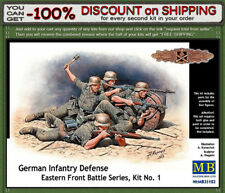 Master Box 35102 German Infantry Defense, Eastern Front, 5 Soldiers Scale 1/35