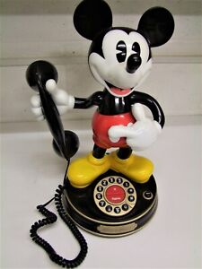 Disney Mickey Mouse Novelty Telephone - All in good working order