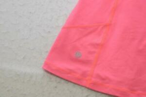 Lululemon Gym Shirt Tank Top Pink Tennis Running Athletic Womens Size 8