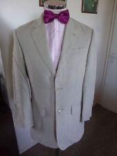 Men's Two Button Jackets Linen Regular Suits & Tailoring