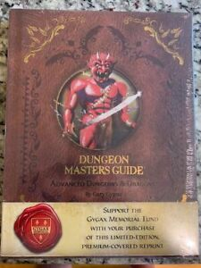 TSR AD&D Dungeons & Dragons Dungeon Masters Guide Premium 1st Gygax Sealed New