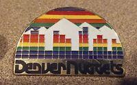 Denver Nuggets pin badge Colorado Mile High NBA basketball