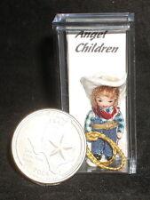Clem the Cowboy Children 1:12 Doll's Doll #822 Dollhouse Miniature Western NEW