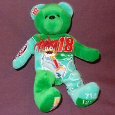 NASCAR Muppet Show 25th Anniversary Beanie Baby Green #18 Plush Stuffed Animal
