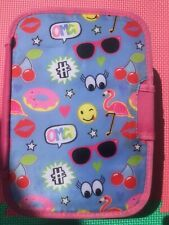 Childrens Pink Funky Arctic Zone Insulated Lunch Box With Divider