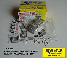 1/43 Ford Escort Kit Car Evo II Rally Manx 1997 Evans Kit