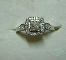 Diamond Ring Size 7  35 diamonds  .35tcw  MSRP$807
