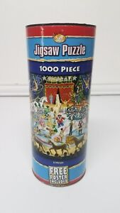 """NEW - """"Circus"""" Jigsaw Puzzle 1000 Piece Serendipity & POSTER"""