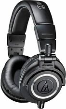 Audio-Technica ATH-M50X Professional Headset Noise Isolation over Ear