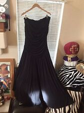 Spiegel strapless cocktail dress or casual black/cruise size 3XRET/$189.99NWOT