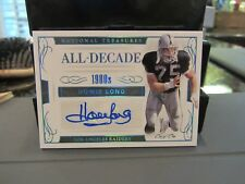 National Treasures All Decade Autograph Raiders Howie Long 1/1 ONE OF ONE  2016