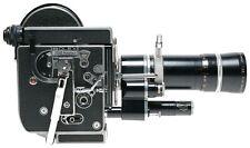 Bolex H16 Rex4 16mm Cine camera Vario switar zoom lens hoof filters outfit