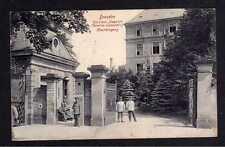 110402 AK Dresden 1915 Garnision Lazarett Haupteingang Verlag Brück & Sohn 19139