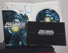 Metroid Prime Trilogy (Nintendo Wii, 2009) deutsche Version, komplett, wie neu