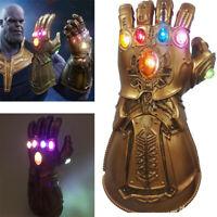 Thanos Gloves Cosplay Avengers 3 Endgame Infinity War Gauntlet LED Kids Gift
