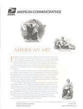#551 32c 400 Years American Art (20) MS20 #3236 USPS Commemorative Stamp Panel