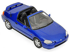 Honda CR-X del Sol 1992-98 blau blue metallic 1:43 Minichamps