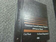 1999 Ford F-250 Powertrain & Emissions Shop Service Repair Manual XL XLT Lariat