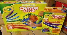 New Motorized Crayola Crayon Carver with Jumbo Crayon Pack 32 Jumbo Tiles * NEW