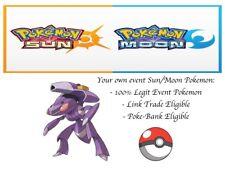 Pokemon Sun and Moon ORAS 20th Anniversary Event Pokemon Genesect w/ PP Max