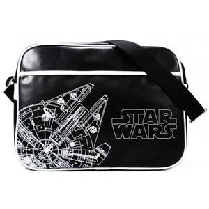 Star Wars Shoulder Bag Millenium Falcon Retro Bag School Satchel
