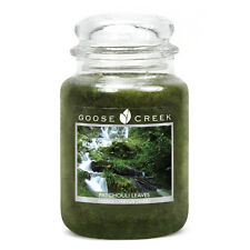 Goose Creek 24oz Large Jar Candle Patchouli Leaves  Dual Wick