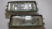JDM Nissan Stanza Bluebird Pintara PU12 Headlight Head Lamps Lights Pair OEM U12