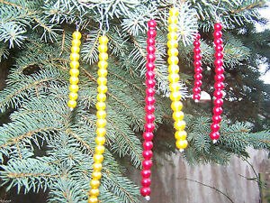 10 Piece Katzenfreundliches Icycles Pendant Christmas Tree Many Colours