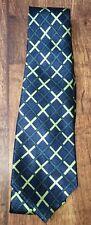 Men's verde e blu Motivo Cravatta Urban Spirit < NH6770