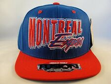 MLB Montreal Expos Snapback Hat Cap American Needle Angler