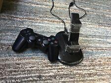 Genuine Playstation 3 PS3 Dualshock 3 Controller + 2 Charger Docking station