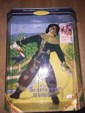1996 Ken Is The Scarecrow Wizard Oz Poseable Doll Hollywood Legends Collection
