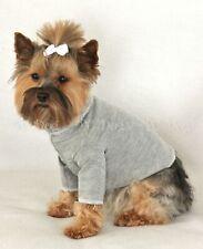 Gray Dog Turtleneck Pet Shirt Clothing Clothes Apparel PC Dog®