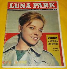 LUNA PARK 1961 n. 33 Virna Lisi, Anna Maria Gambineri