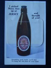 More details for jersey mary ann - ann st. brewery co. ltd 12 image multiview c1960s postcard