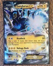 Pokemon Card  THUNDURUS EX  Ultra Rare  26/108  ROARING SKIES ***MINT***