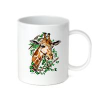 Coffee Cup Mug Travel 11 15 Oz African Wildlife Giraffe 2 Nature Zoo
