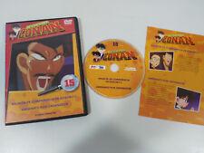DETECTIVE CONAN DVD SERIE TV VOLUME 15 2 CAPIT CASTIGLIANO/ GIAPPONESE JONU