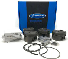 Supertech Pistons 81MM 11.0:1 Comp Fits Toyota 4AGE 16V 20mm Pin Corolla Levin