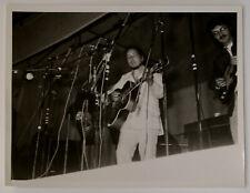 """Bob Dylan Photo Vintage 8.5"""" x 6.5"""" B/W Circa 1965 #2"""