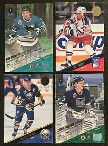 (VA) 1993-94 Leaf Hockey Singles*221-440*Select from menu List