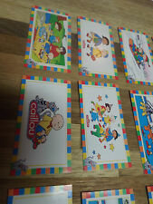 24 CAILLOU PBS STICKERS, birthday party favors